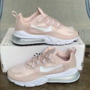 NIKE W AIR MAX 270 REACT barely rose/white-black